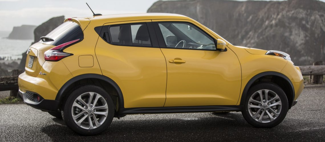 Since its launch for the 2011 model year, the Nissan JUKE has stood out from the crowd with its fiercely sculpted headlights and hood, muscular lines, hidden rear door handles and fluid rear hatchback design. For 2015, JUKE's bold style is enhanced with new front and rear fascias that further push the boundaries of its signature premium and sporty performance cues.